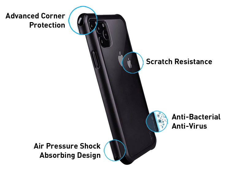 NavJack Germproof Series - Complete Phone Protection and Advanced Dual Material Design