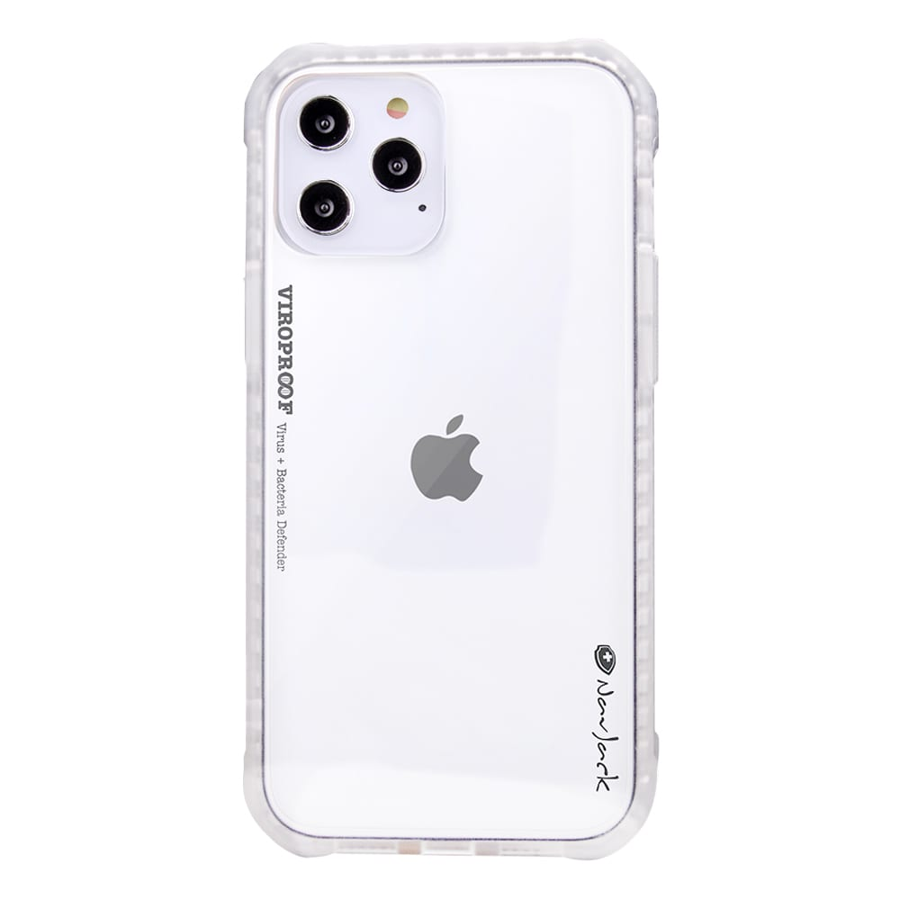 NavJack - ViroProof iPhone Antibacterial and Antiviral Shock Proof Case for iPhone 12 Pro Max